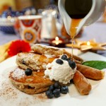 Buffaloberry Bed & Breakfast Pancakes