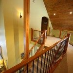 Staircase at the Buffaloberry Bed & Breakfast