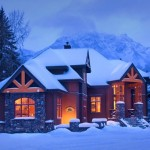 Buffaloberry Bed & Breakfast Winter Exterior
